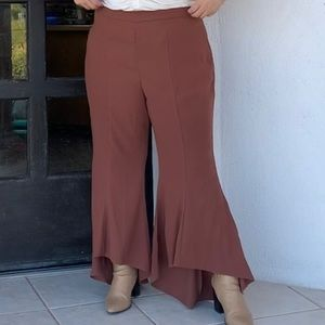 Forever 21 Bell Bottom Pants *plus size*